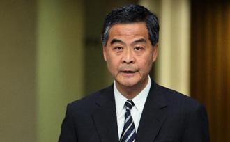 梁振英称22日是香港民主发展重要里程碑