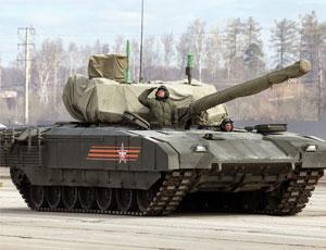 """俄閱兵綵排T-14坦克仍""""蒙頭"""""""