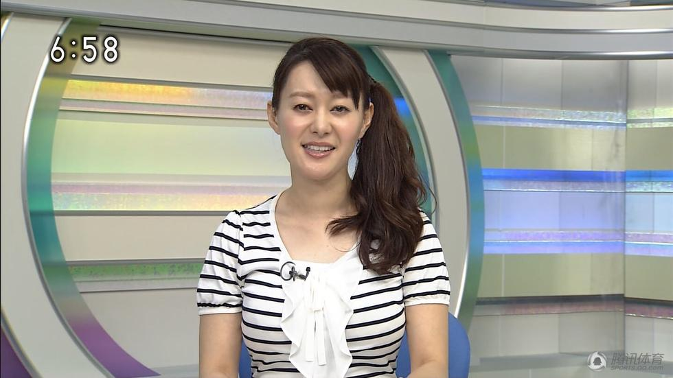 日本体育美女主播因胸大遭投诉 被迫离职 娱乐