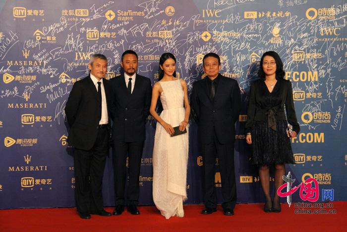 第五届北京国际电影节闭幕 成龙卖萌亮相图片