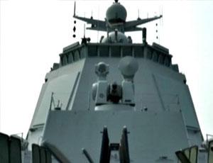 052D艦垂發裝置開啟畫面曝光