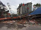 尼泊爾發生8.1級強烈地震 房屋損毀嚴重[組圖]