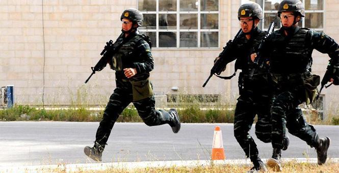 中國代表隊參加約旦國際特種兵比武獲兩個第一