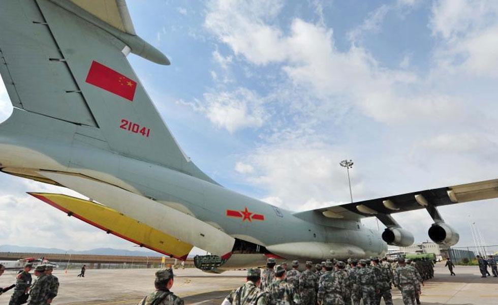 中国4架伊尔-76飞机投入抗震救灾