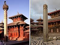 尼泊爾地震前後對比 大量古跡被毀觸目驚心