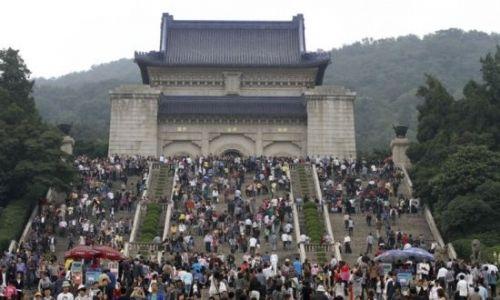 南京中山陵免费厕纸 两天用了93公里图片