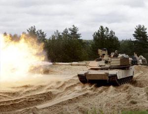 美軍M1A2坦克部署拉脫維亞發威