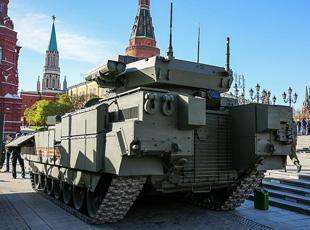 360度近觀俄軍T-15重型戰車