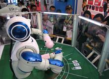 玩牌机器人互动玩21点
