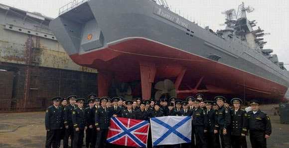 俄20年前退役核巡洋艦 翻新刷油漆後將重新服役