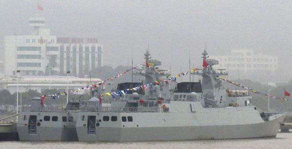 外媒:中國新型潛艇殺手下水 配備拖曳陣列聲吶