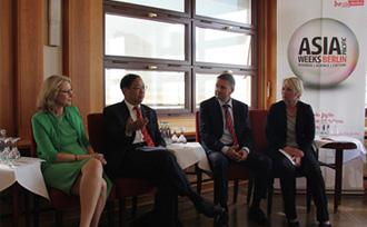 史明德大使出席柏林亚太周新闻发布会