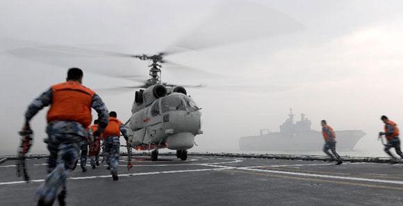 中法海軍在東海成功舉行聯合演練