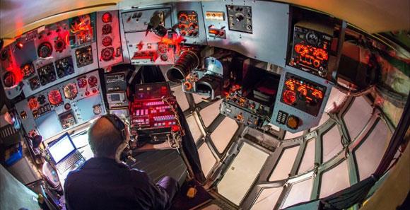 中美俄大運輸機駕駛艙對比