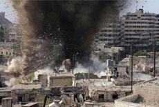 敘政府軍轟炸反對派隧道