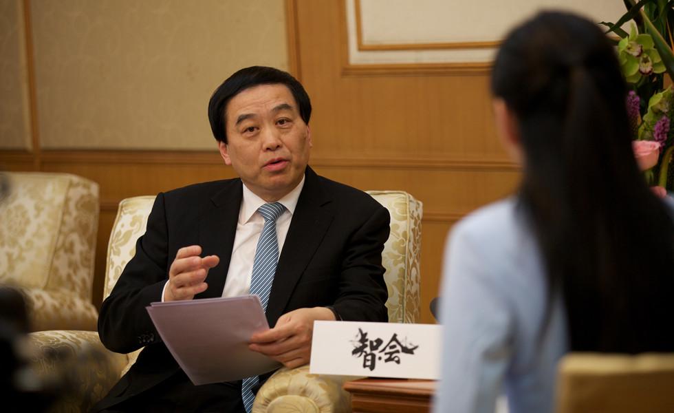 扬州市长及扬州市政协主席接受中国网《智会》专访