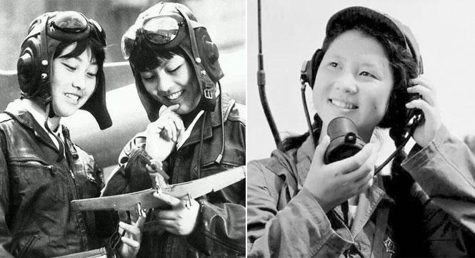 六七十年代中國女兵別樣的美