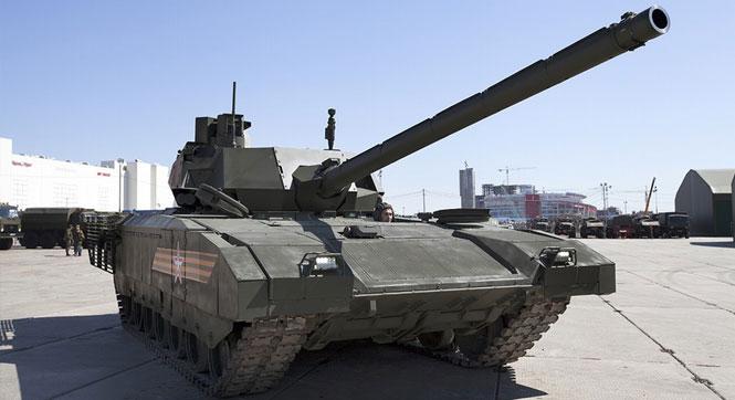 俄軍新型T-14坦克全方位展示