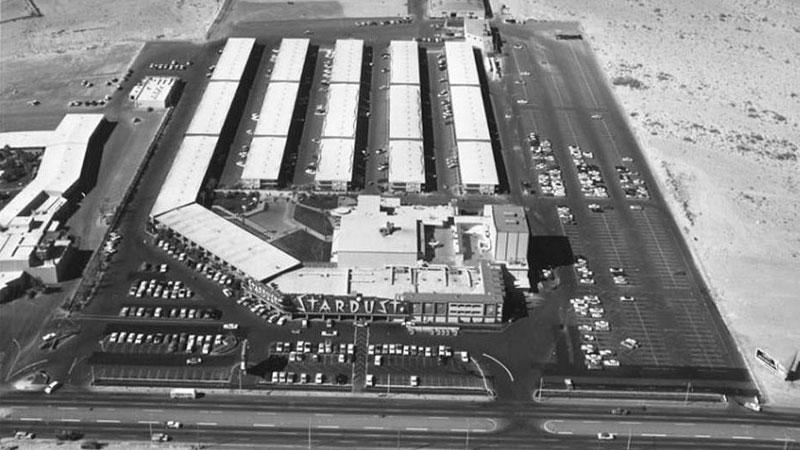 【全球头图】航拍1959年美赌城拉斯维加斯全景