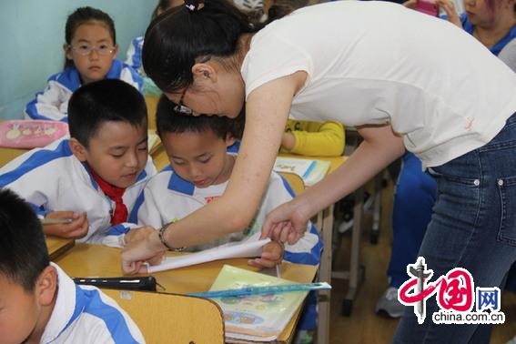 青岛永安路家长数学小学走上老师当讲台学生小学奥数图片
