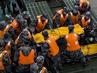 沉船現場找到多名遇難者遺體