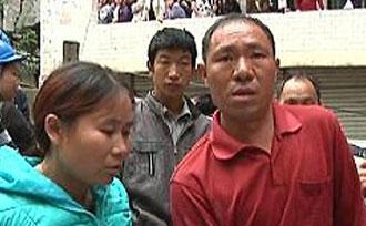 贵州遵义一七层民房垮塌 英勇夫妇挽救60余人