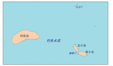 Schémade la voie maritime Diaoyu