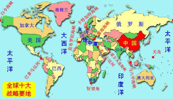 世界战略要地外交走向分析