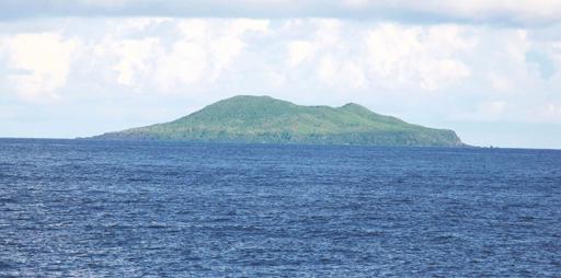Контурная карта острова Хуанвэйюй