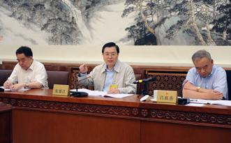 张德江参加十二届全国人大常委会第十五次会议分组审议