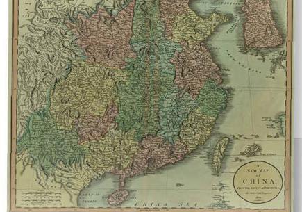 Новейшая карта Китая
