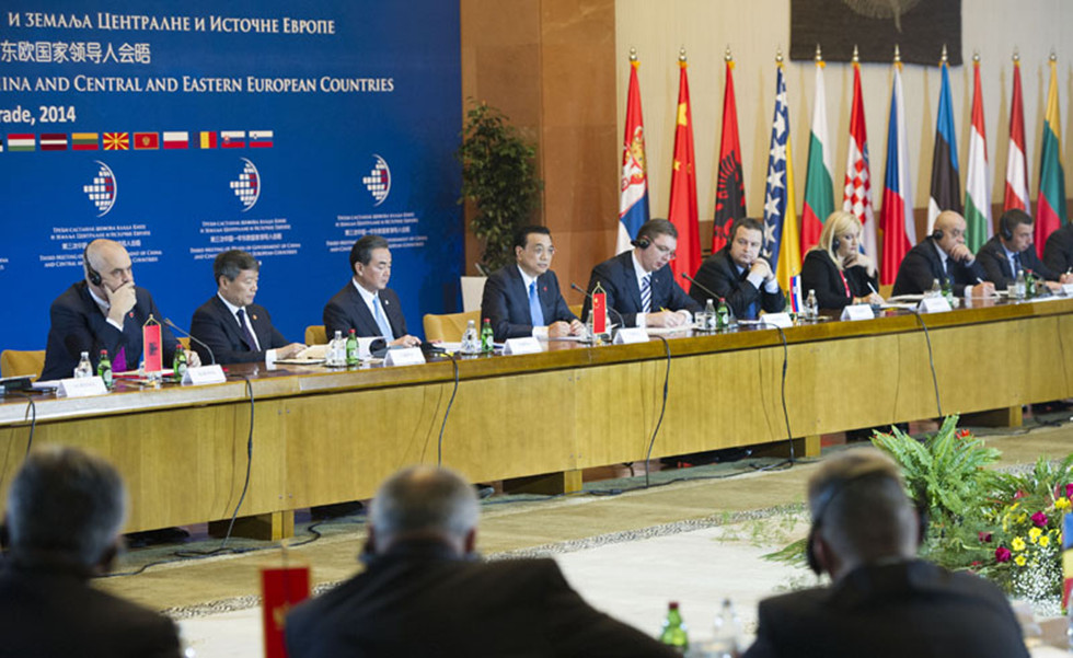 李克强出席第三次中国-中东欧国家领导人会晤