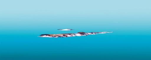 Presentación en 3D del islote Feiyu