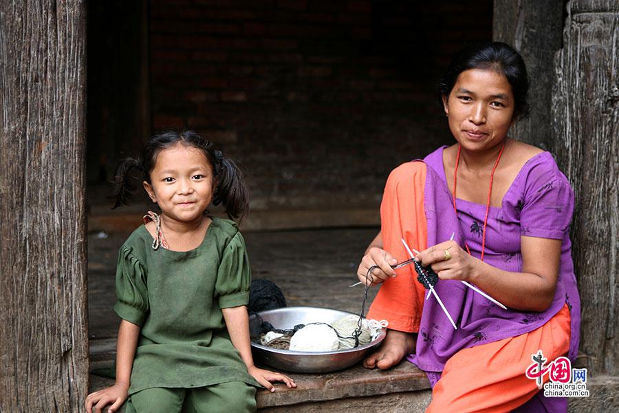 尼國神色(三十三)尼泊爾,面孔