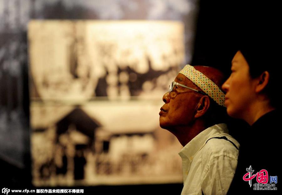 八旬日本老人骑行中国东北 用行动呼吁珍爱和