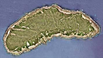 Imagen de teledetección de la isla Diaoyu