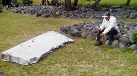 法属留尼旺岛现客机残骸 疑似马航370