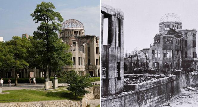 【镜界】广岛原爆70年今昔对比