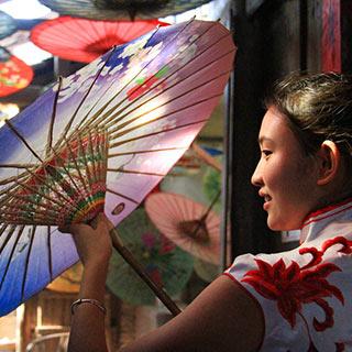 【非遗】中国民间伞艺的活化石 四川分水油纸伞