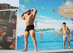 型男辣妹晋级选手pose展示