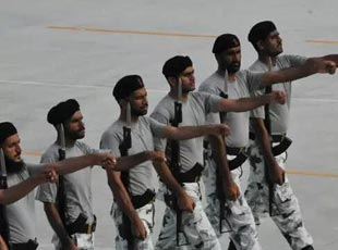 17個外軍參閱部隊進駐閱兵訓練基地 訓練照曝光