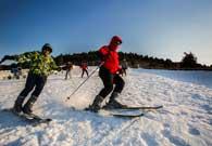 督公山滑雪樂園:'最受歡迎的陽光雪場'
