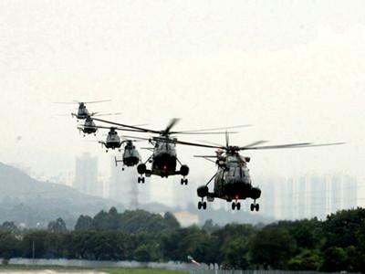 解放軍駐港部隊完成第十八次建制單位輪換