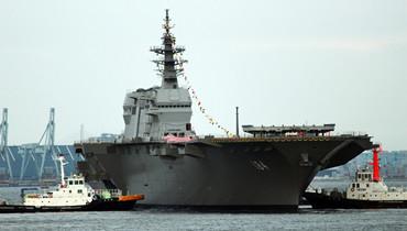 軍情24小時:日本第二艘出雲級準航母下水新照