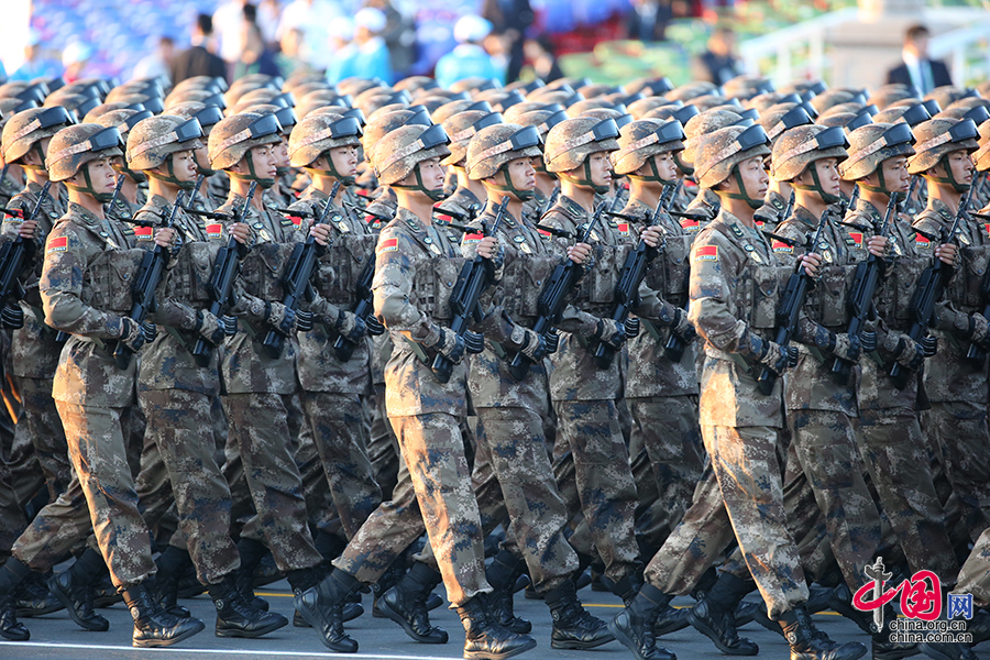 中國人民抗日戰爭暨世界反法西斯戰爭勝利70週年紀念大會即將開始