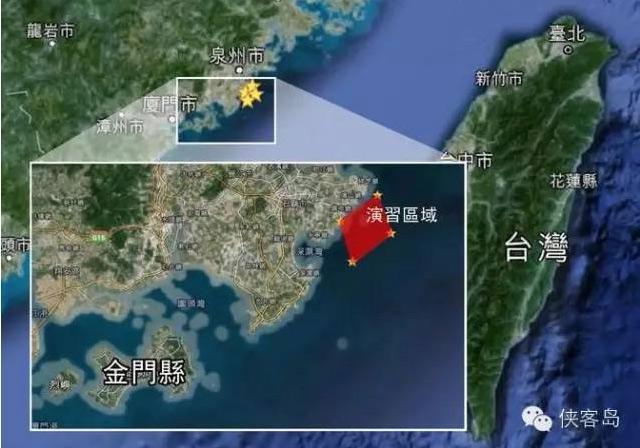 解放軍明起在台灣海峽實彈軍演3天,有講究?