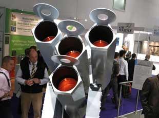英國防務展開幕 德制集束鐳射武器搶眼
