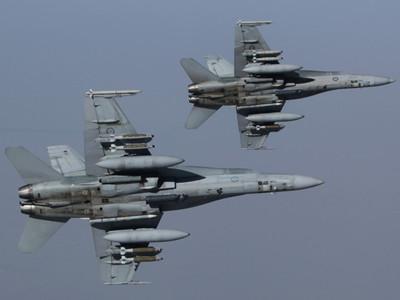 澳大利亞戰機滿挂炸彈巡視敘利亞天空