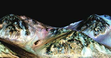 发现火星液态水活动有力证据
