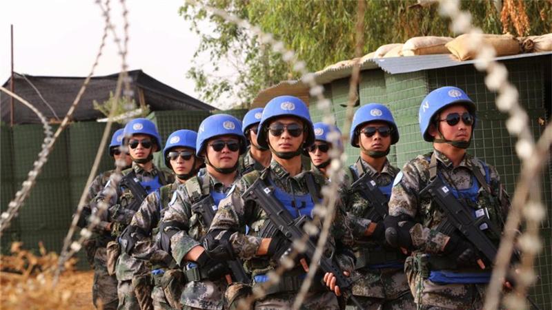 中國第三批赴馬利維和部隊展開戰備演練